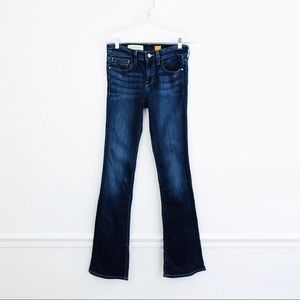 Pilcro Stet Mid-Rise Flare Jeans